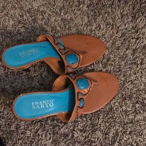 Summer sandal genuine leather good condition